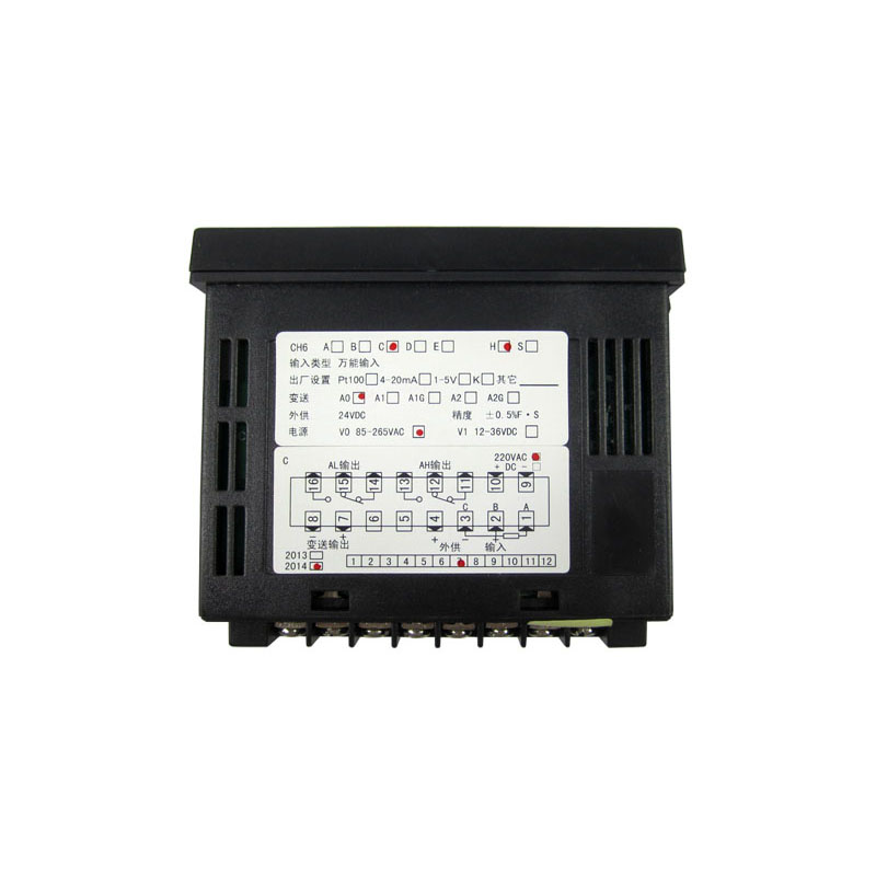 Multifunctional Sensor Bottom CH6 Temperature Controller Panel Display Meter For BGA Rework Station IR6000 dmx512 digital display 24ch dmx address controller dc5v 24v each ch max 3a 8 groups rgb controller