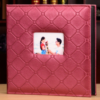 Large Size Loose leaf Photo Album 600 Sheets 15.2x10.2cm Pictures Albums PU Leather Cover Interleaf Type Photos Book Scrapbooks