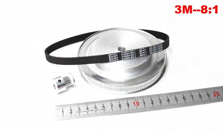 New product CNC Router parts synchronous belt suite 8:1
