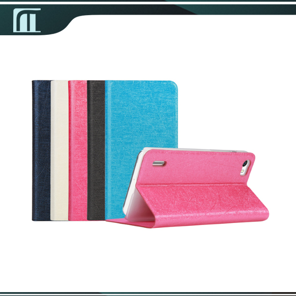 competitive price a4a65 9c21c US $9.58 |Free shipping mobile phone bag Huawei Honor 6 flip cover case  accessories Black Blue White Pink color + free screen protector on ...