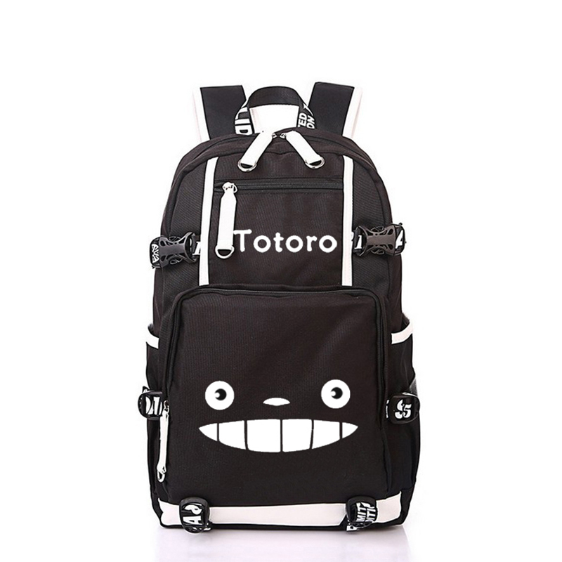 Anime My Neighbor Totoro Backpack Cute Totoro Prints School Bags For Kids Boys Girls Daily Travel Laptop BackpackAnime My Neighbor Totoro Backpack Cute Totoro Prints School Bags For Kids Boys Girls Daily Travel Laptop Backpack
