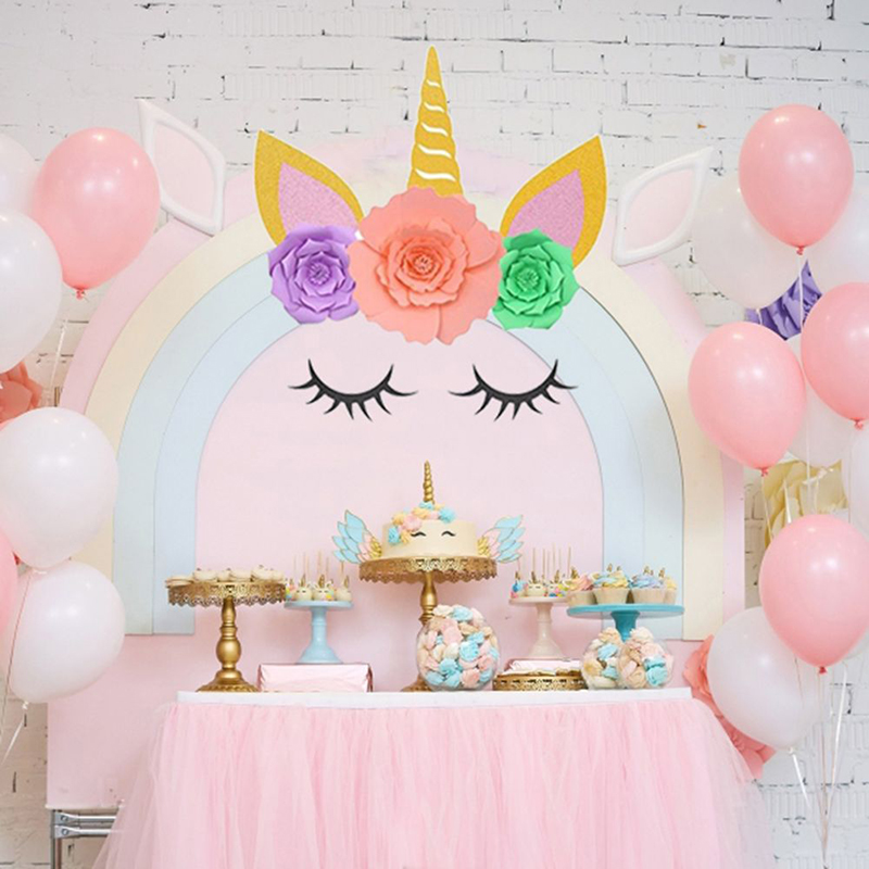 DIY-Unicorn-Theme-Party-Decor-Sets-Artificial-Rose-Flowers-Eyelash-Birthday-Wedding-Unicorn-Party-Decorations