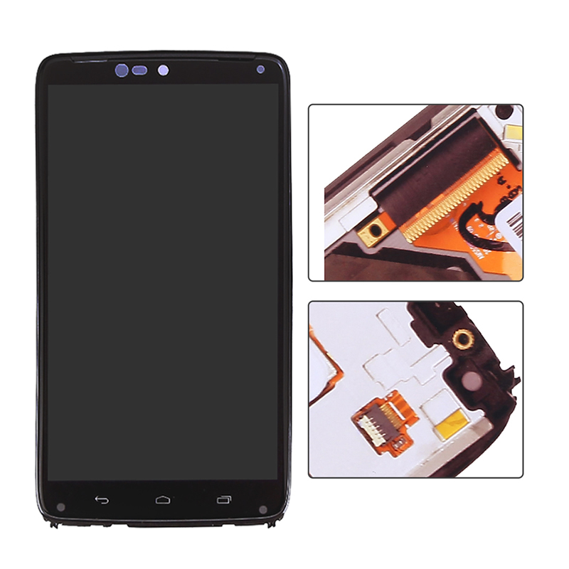 Top Quality LCD for Motorola Moto Droid Turbo Xt1225 Xt1254 LCD Display Touch Screen Digitizer FrameTop Quality LCD for Motorola Moto Droid Turbo Xt1225 Xt1254 LCD Display Touch Screen Digitizer Frame