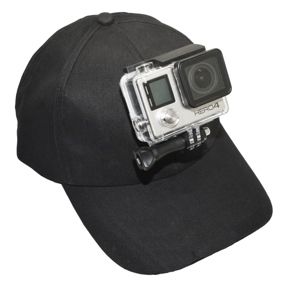 Image 5 - Kaliou Outdoor Sun Hat Baseball Cap Holder Mount for GoPro 6 5 4 3 2 1 SJCAM SJ4000 SJ5000 Action Camera Accesseries-in Sports Camcorder Cases from Consumer Electronics