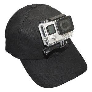 Image 5 - Kaliou chapeau de soleil extérieur casquette de Baseball monture pour support pour GoPro 6 5 4 3 2 1 SJCAM SJ4000 SJ5000 accessoires de caméra daction