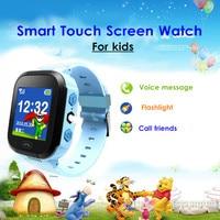 KINCO Niños SMS Llamada Telefónica SOS Reloj Inteligente 1.44 pulgadas Bluetooth SIM Seguro Anti lost-Pulsera de Control Remoto IOS Android