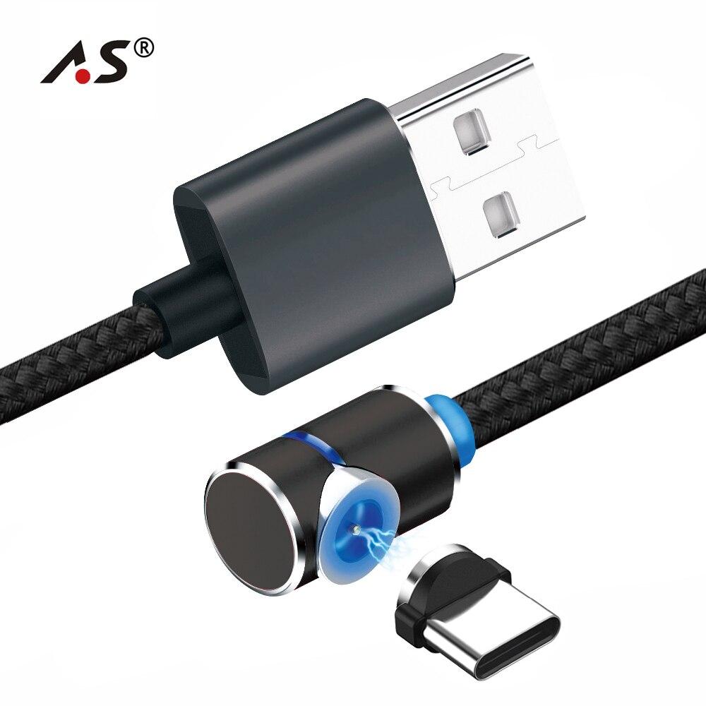 USB Type C Magnetic Cable ,TOPK L Line1 90 Degree L Shape Type C ...