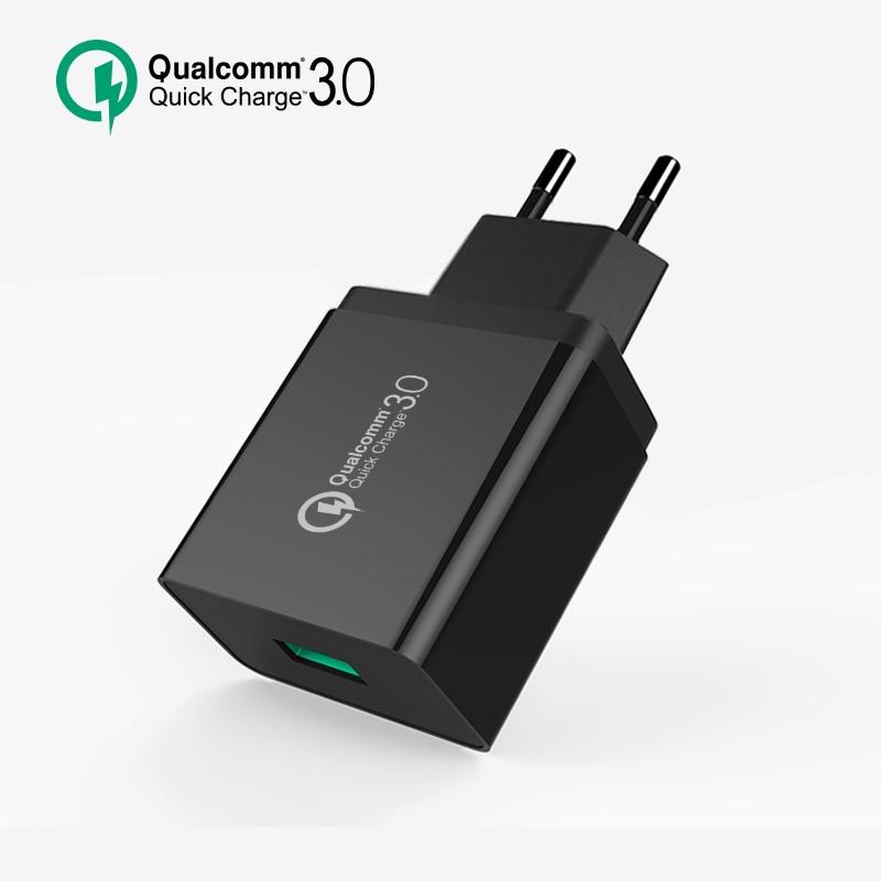 bilder für 2 STÜCKE SEGSI Usb-ladegerät Schnelle Handy-ladegerät Qualcomm Quick Charge 3,0 18 Watt für Samsung Huawei LG