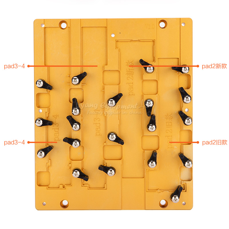 IC CNC Grinding Machine Parts Mould Jigs Board Repairing Chip IC CNC Router Parts for Repair iPad 2,3,4 ic