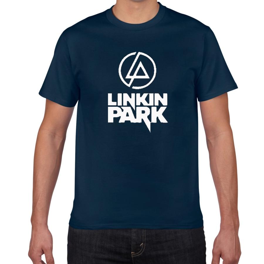 2019 New Summer Street Wear Men T Shirt Lincoln Linkin Park T Shirt Men 100 Cotton Linkin Brand Men Clothes Short Tops Tees