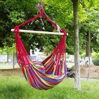 Extra Long Comfortable Durable Striped Hanging Chair Hammock Yes in wet conditions 120kg 100cm 130 L W