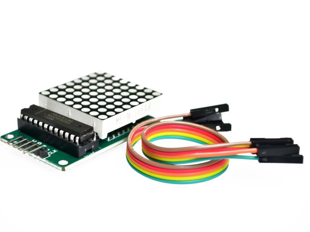 MAX7219 Dot Led Matrix Module MCU LED Display Control Module Kit For Arduino Free Shipping