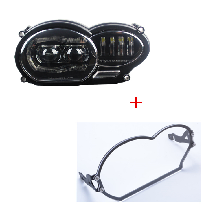 2018 New Product For BMW R1200GS 2004 2005 2006 2007 2008 2009 2010 2012 Led Headlight and Protective cover2018 New Product For BMW R1200GS 2004 2005 2006 2007 2008 2009 2010 2012 Led Headlight and Protective cover