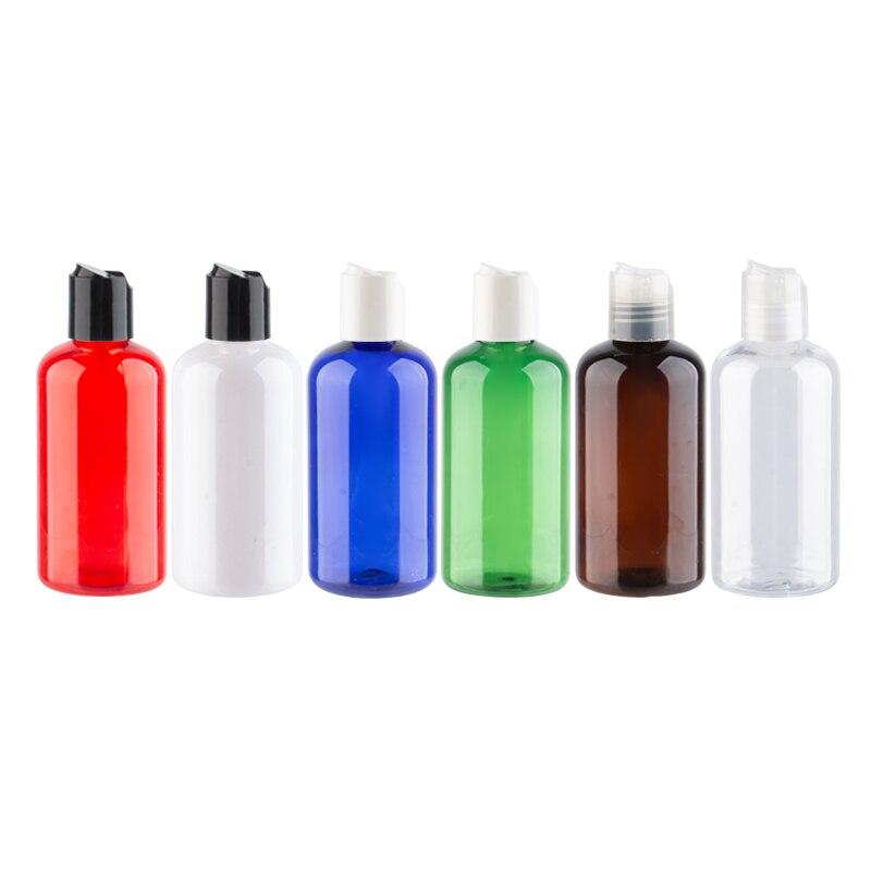 Disc Cap Plastic Bottles Empty Multi-Purpose DIY Containers Skin / Hair Care Tools Shower Gel Hair Conditioner PET Bottles 220ml