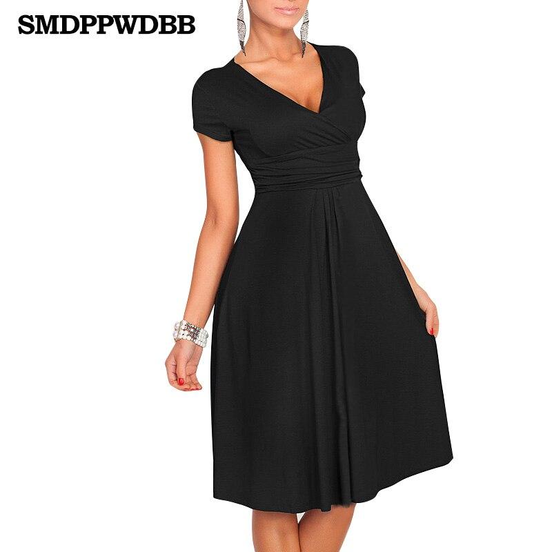 SMDPPWDBB Women Dress V-Neck Elegant Office Vestido Maternity Dresses Knee-Length Pregnancy Dress Autumn Maternity Nursing Dress