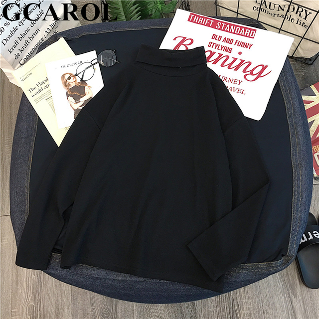 Striped Full Sleeve Stretch Tops Drop Shoulder Undershirt M-XL 2
