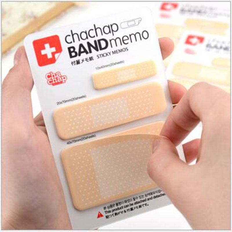 Lovely Tape Notes Memo Card Wai Ji Pad Paper Stickers Creative Stationery Korea