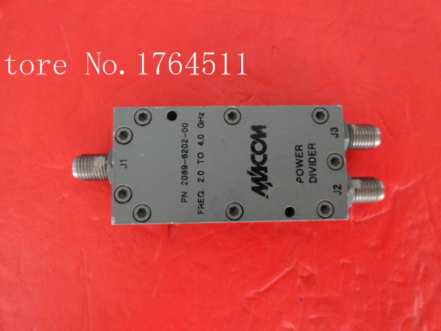 [BELLA] The Supply Of M/A-COM RF Coaxial Power Divider Into Two 2089-6202-00 2-4GHz SMA