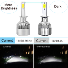 ECAHAYAKU 6 Pairs High Intensity 36W 3800LM Car LED Headlight Kits H1 H3 H7 H11 H13 9004 9005 HB3 9006 HB4 6000K Bulbs