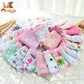 Monkids 6/bag color mezclado la entrega underwear bragas de las muchachas de la alta calidad del algodón niño calzoncillos niñas bebés underwear