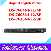 H IKVISION 6MP NVR 4CH 8CH 16CH POE HD DS-7604NI-E1/4จุดDS-7608NI-E2/8จุดDS-7616NI-E2/8จุดds 7604 7608 7616 ds-7604 ds-7608 ds-7616