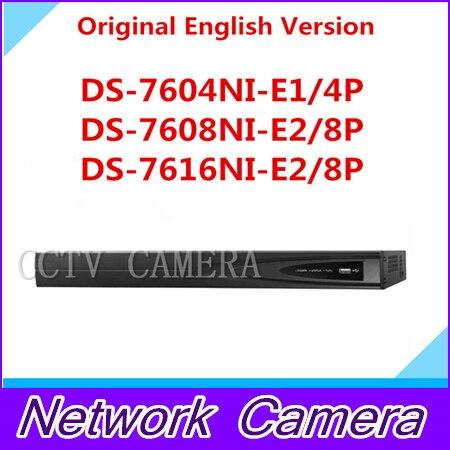 HIKVISION 6MP NVR 4CH 8CH 16CH POE HD DS 7604NI E1 4P DS 7608NI E2 8P