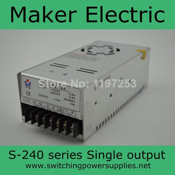 S-240-12 12v 20A 240W switching power supply monitoring power transformer s 240 12 12v20a 240w 12v switching power supply monitoring power transformer