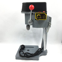 340W Mini PCB Drill Press 220V Stand Table Bench 16000rpm High Speed 22mm Stroke Clamping 0.6 6.5mm Wood PVC DIY Home Tools