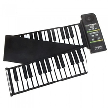 88 Keys Silicon Flexible Electric Roll Up Piano Keyboard Instruments For Beginner PN88S