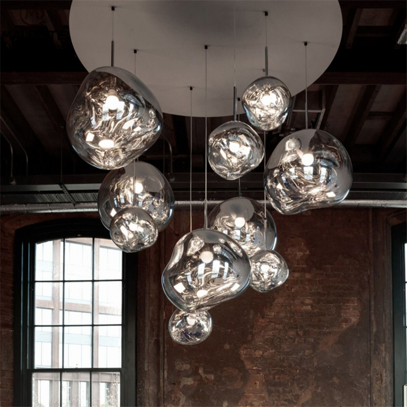 Pendant Lights Lights & Lighting Nice Nordic 3/5/ 9/11 Head Tom Dixon Lava Pendant Light Luster Led Living Room Pendant Lamp Luminaire Cafe Hanging Deco Fixtures