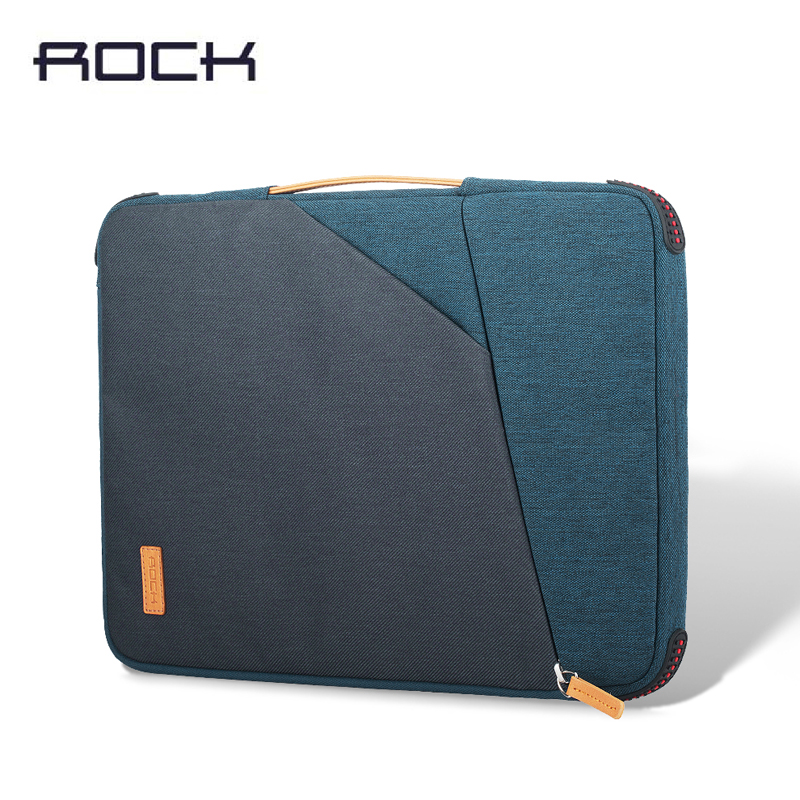 ROCK Brand Luxury Zip Sleeve Pouch Bag For iPad Pro 13inch Nylon Protection Shell Case for iPad Air Tablet PC Bag new brand bubm case for ipad air pro 9 7 storage bag for ipad mini tablet 7 9 pouch for 7 9 tablet free drop ship