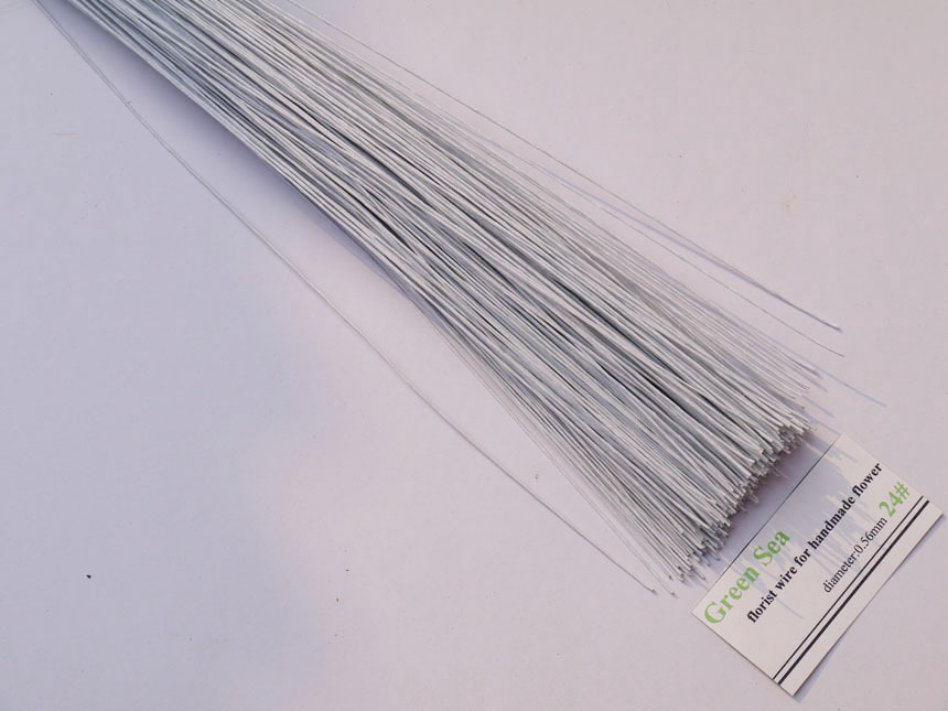 24gauge brown Florist Wire 200pcs wreath wire-in Artificial & Dried ...
