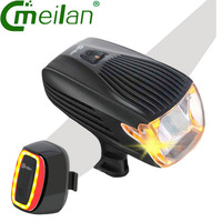 Meilan X1 Bike Light USB Rechargeable Tail Lamp Bicycle Bike Led Front Light 16 LED Smart