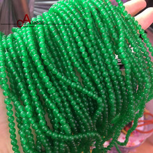 2017 Sale Price for Good Remarks 2 Strip/Lot Natural Chrysoprase Loose beads For Bracelets and Necklace DIY Making