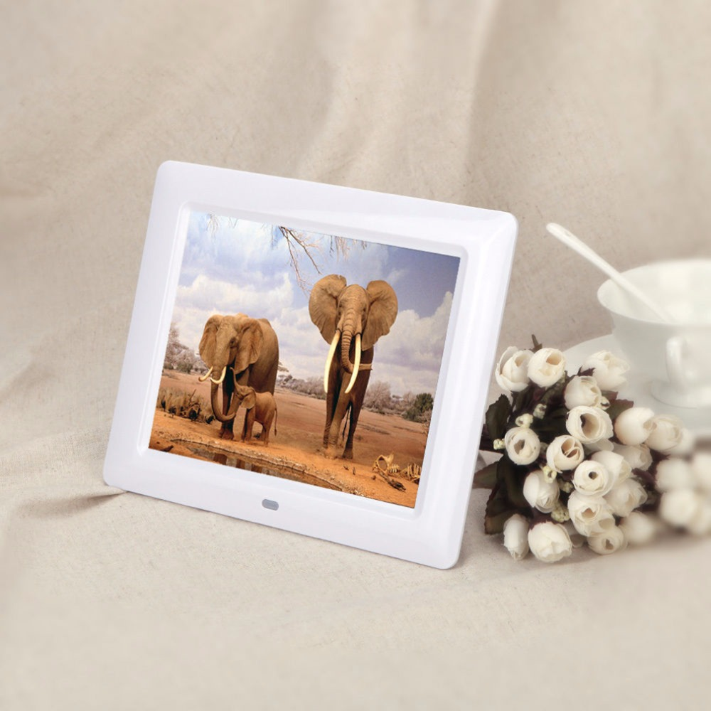 newest 7 lcd hd high resolution digital picture photo frame mp34 alarm