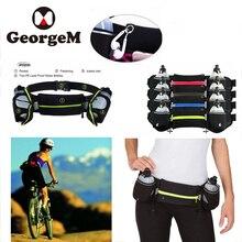 2018 Waterproof Men Women Sports Riding Running Bike Cycle Bottle Bag Waist Cycling Phone Belts Reflective Pack