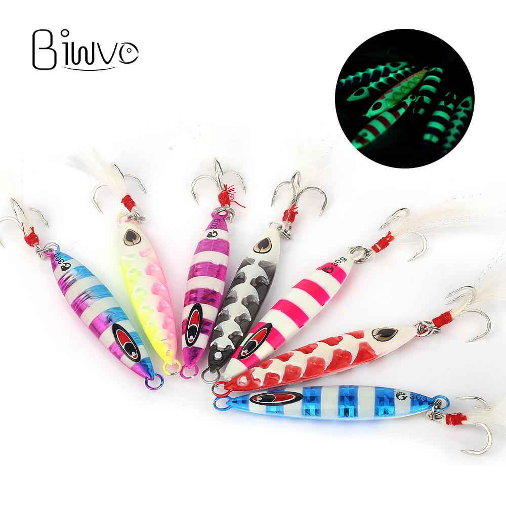 Biwvo Fishing Lures <font><b>Metal</b></font> Squid <font><b>Jig</b></font> Wobbler Winter Goods For Fishing Ice Noeby Vib Minnow Hard Lure Surface Jigging 20g 30g <font><b>40g</b></font> image