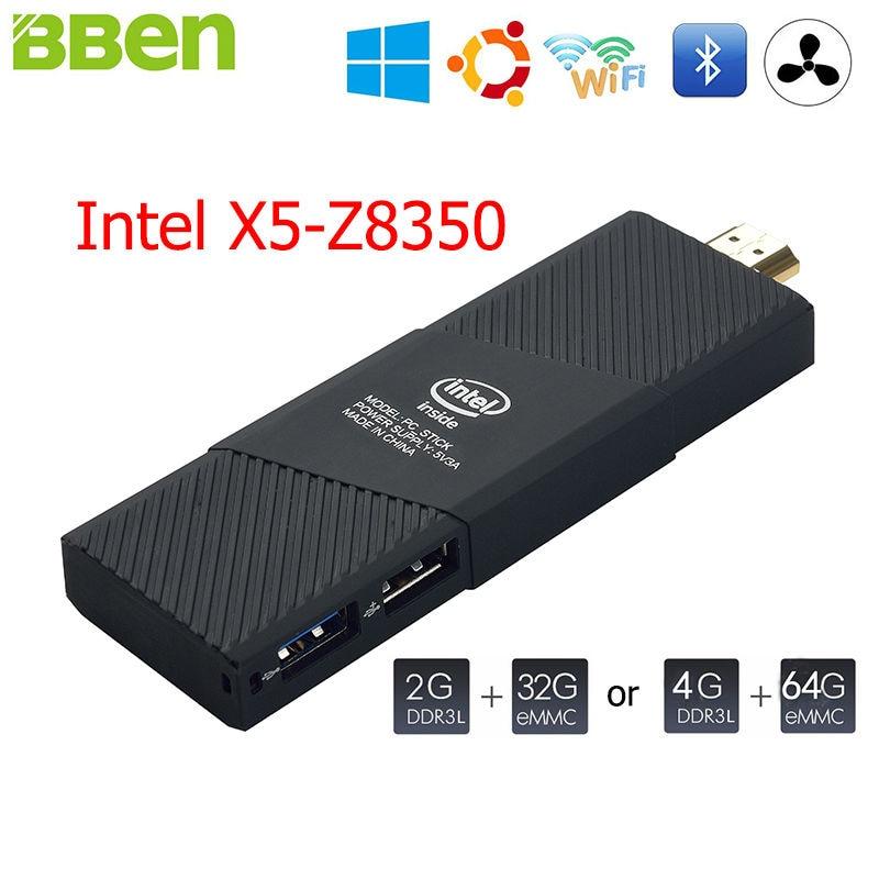 Bben intel mini pc de windows 10 intel ubuntu cereza z8350 quad core 2 gb 4 gb r