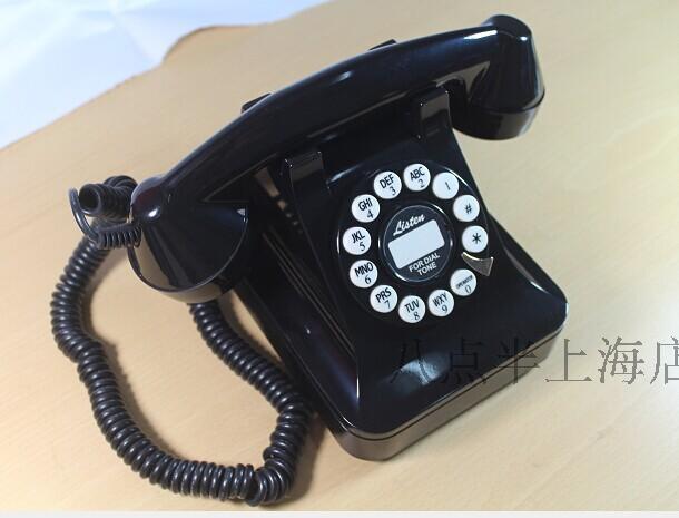 Ретро Мода Пастырской Континентальный Антикварных Старинных Бытовой Стационарный Телефон Мелодии Машины