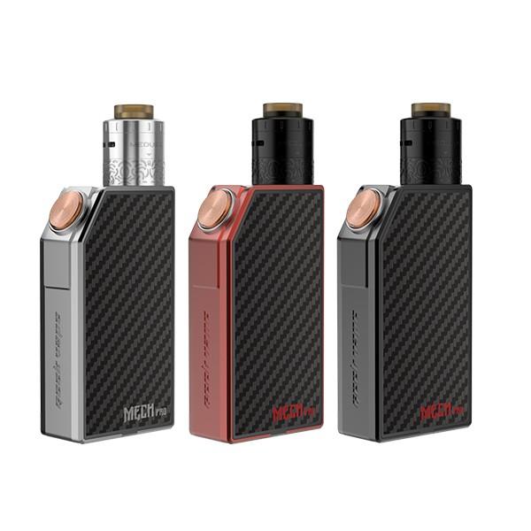 Prix pour D'origine GeekVape Mech Pro Kit avec Medusa RDTA e-cigarette réservoir mech pro boîte mod vaporisateur kit cadeau plaques de couverture aléatoire couleur