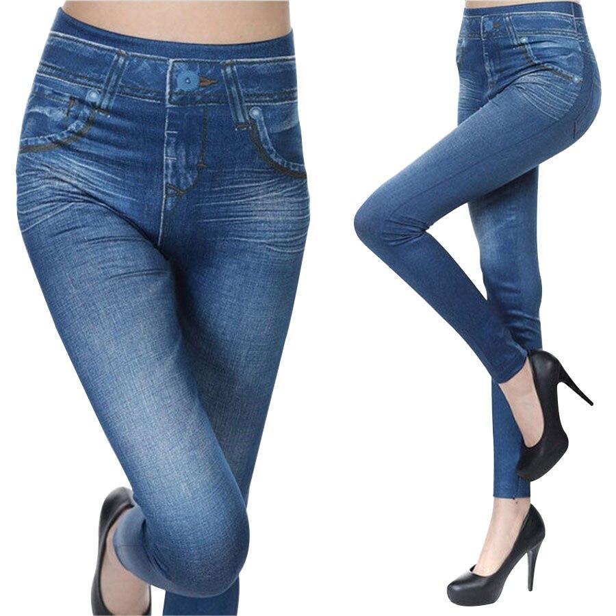 Europa Amerika Mode Bleistift Hose Frauen Schlanke Hüften Lift Caresse Jeans Dame Dünne Legging Fit Halten Gestaltung Hosen WK5002