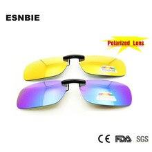 NEW Summer Style Polarized Clip On Sunglasses Women Men Lens with Case UV Protection Sun Glasses Lens