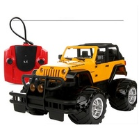 New 1 14 Jeep Wrangler Rubicon Rc Car Radio Remote Control Simulated Cross Country Model Toy