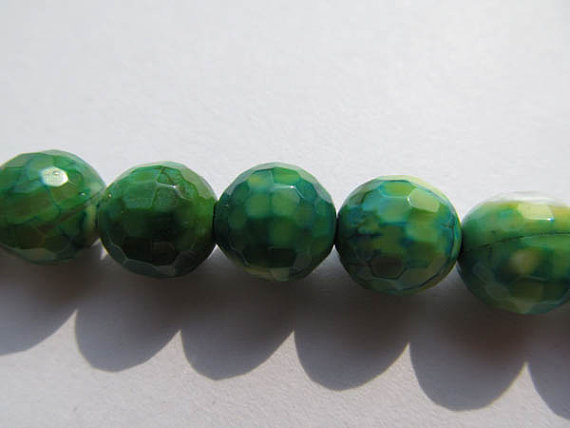 high quality gergous agate bead round ball faceted cracked green olive yellow jewelry beads 10mm --5strands 16inchhigh quality gergous agate bead round ball faceted cracked green olive yellow jewelry beads 10mm --5strands 16inch