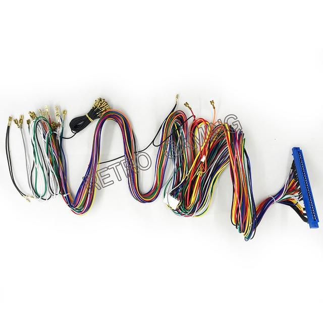 1 pcs/Lot 28pin Jamma câblage harnais pour Multi jeux darcade accessoires de Machine de conseil