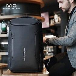 Mark Ryden Neue Business Rucksack Anti Theft Mode Männer Multifunktionale Wasserdichte Rucksack 15,6 zoll Computer Pouch USB Interfa