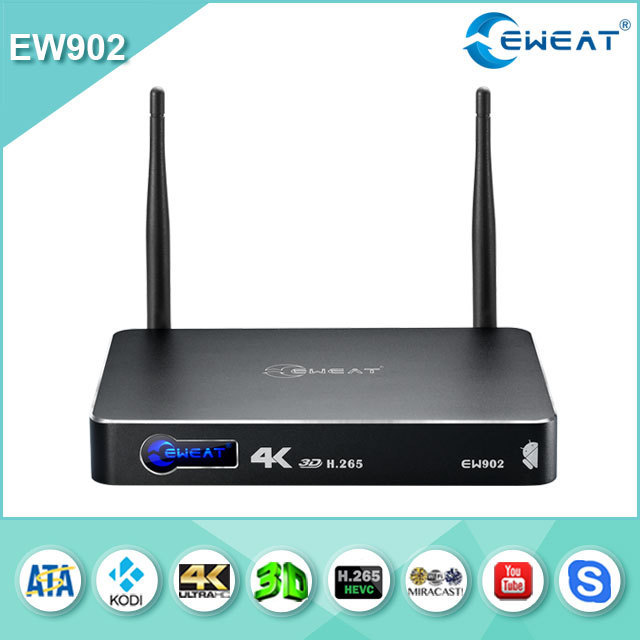 "2015 newest EW902 Realtek1195 HDMI IN+ HDMI OUT gigabit ineternet 3.5""HDD 4K 3D media player android tv box"