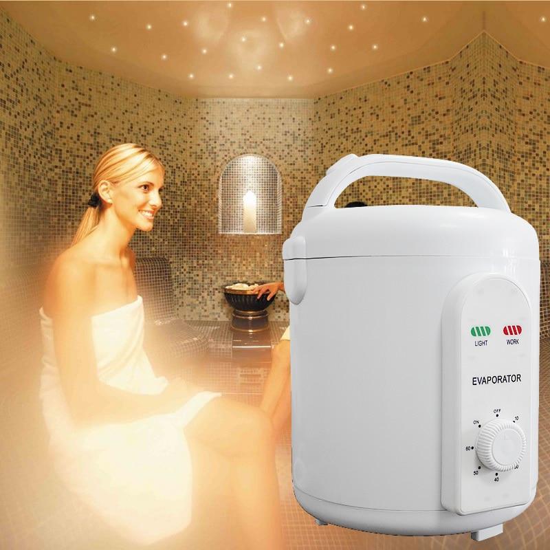 Sauna Bagno di Vapore Macchina Portatile Sauna Generatore di Vapore sauna a raggi infrarossi ossigeno ionizzatore Trasporto libero 110 v o 220 v