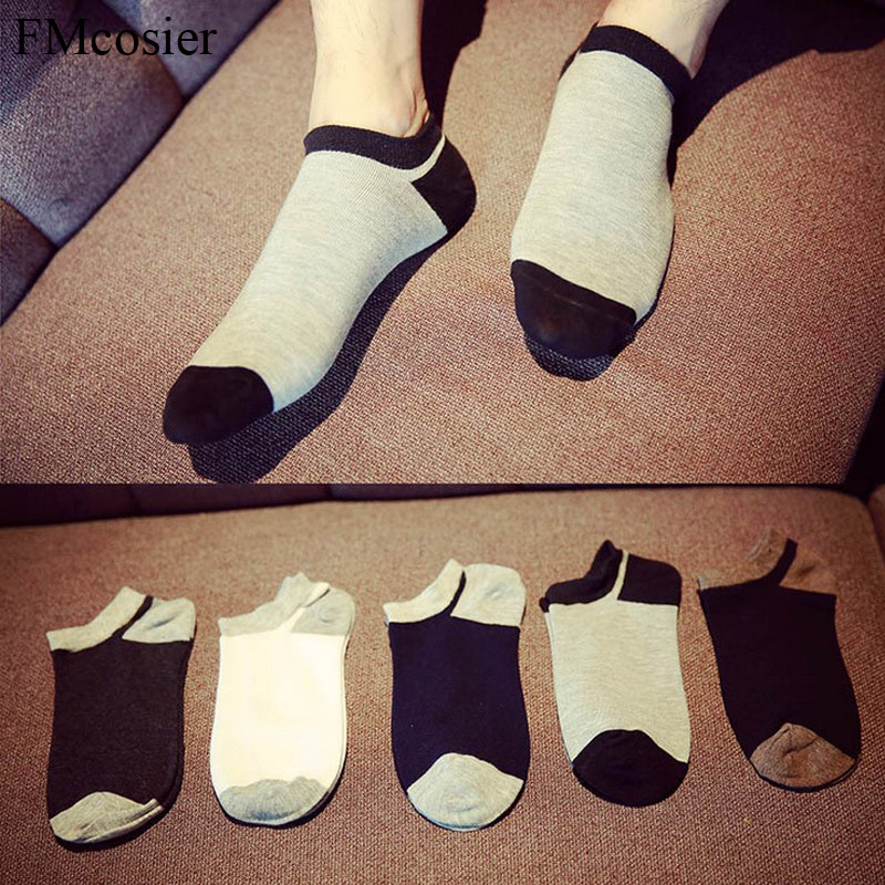10 Pairs Summer Cotton Mens Short Ankle Socks For Men Invisible Dress Loafer Socks Male Meias Sox Funny Socken Calcetines Cortos