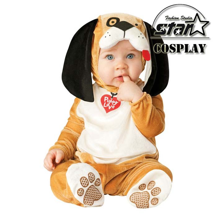 Natal Halloween Boys Girls Baby Costume Infant Animal Rompers Kids